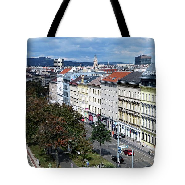 Vienna Beltway Tote Bag by Christian Slanec