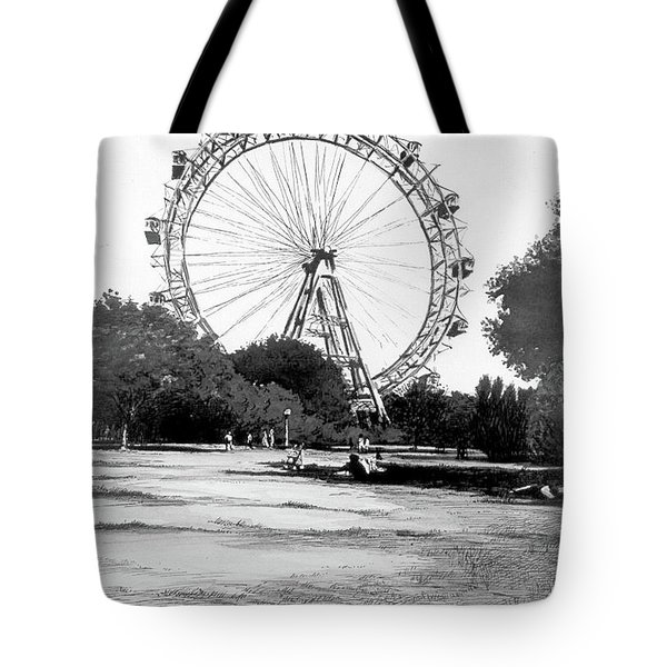 Viennese Giant Wheel Tote Bag