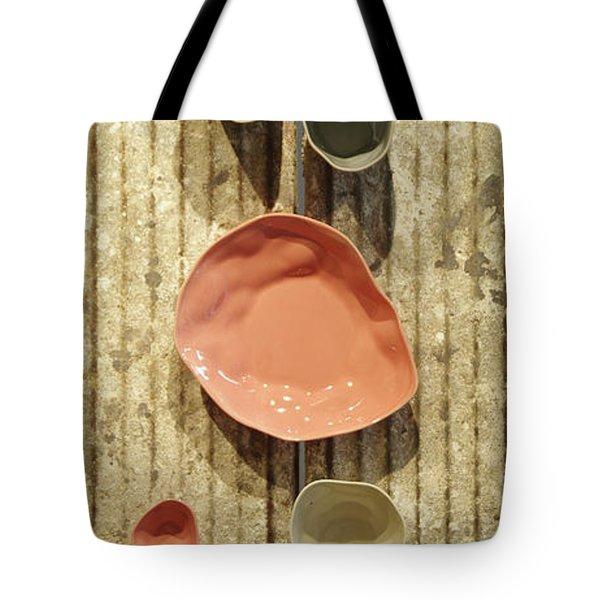 Tote Bag featuring the photograph Vietnamese Ceramics by Gregg Cestaro