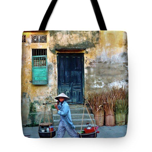 Tote Bag featuring the photograph Vietnamese Street Food Sound by Silva Wischeropp