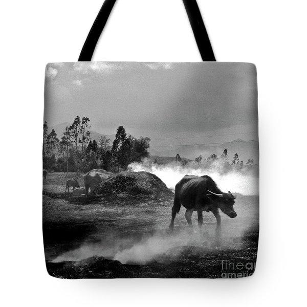 Vietnamese Water Buffalo  Tote Bag