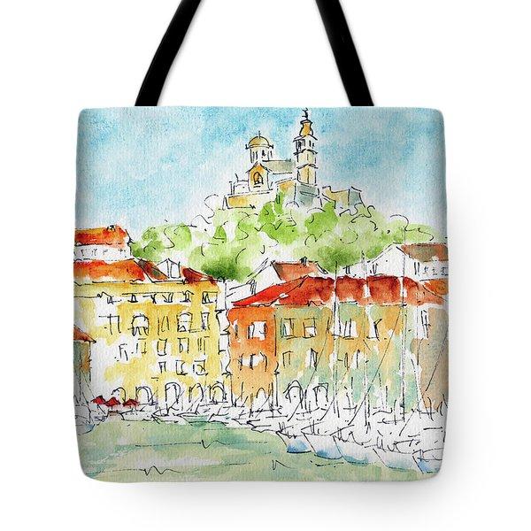 Vieux Port Marseille Tote Bag