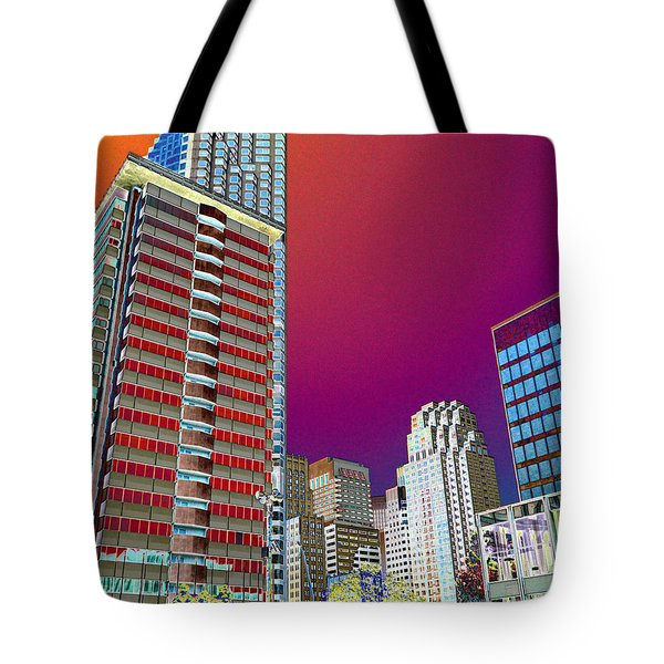 View At Union Square Tote Bag
