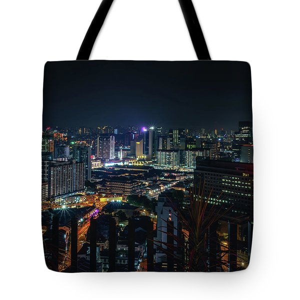 View From 21st Tote Bag