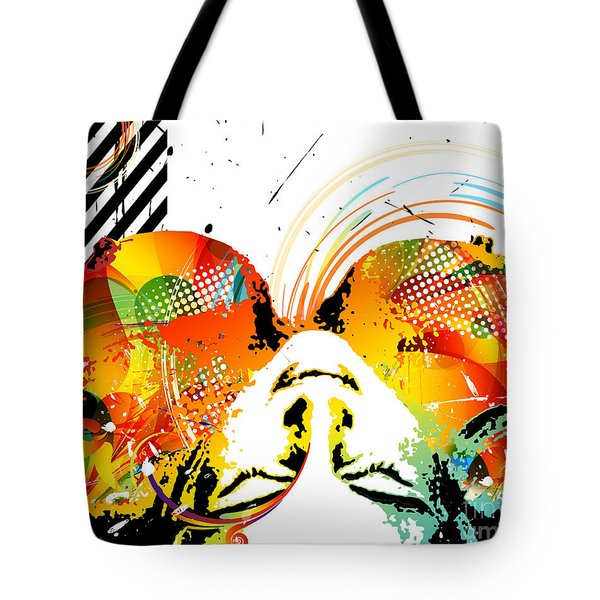 View From Above Tote Bag by Chris Andruskiewicz