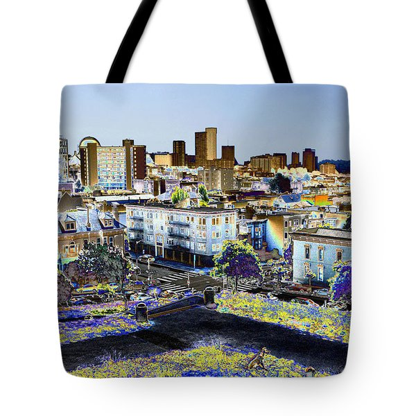View From Alta Park Tote Bag