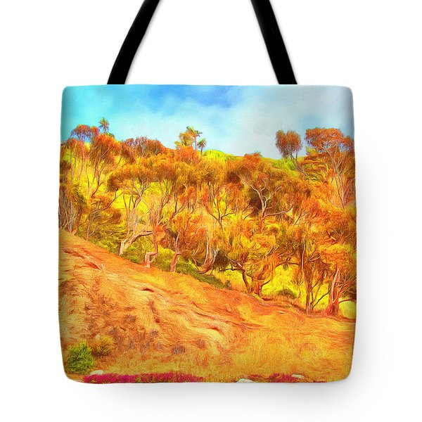 View From Blufftop Trail Tote Bag