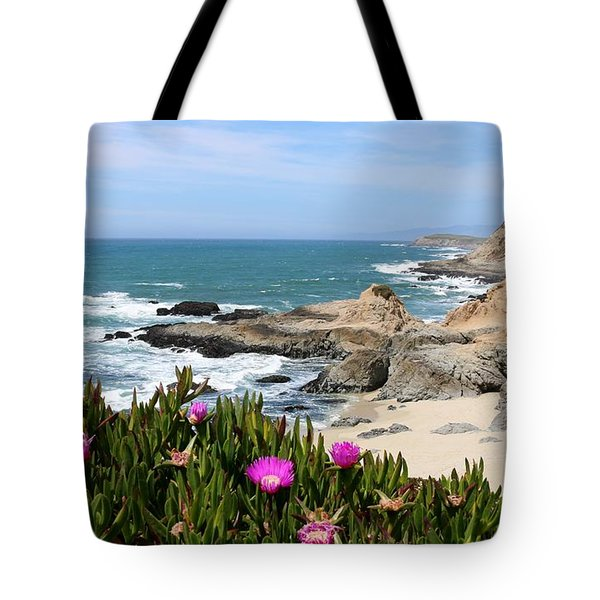 View From Bodega Head In Bodega Bay Ca - 3 Tote Bag
