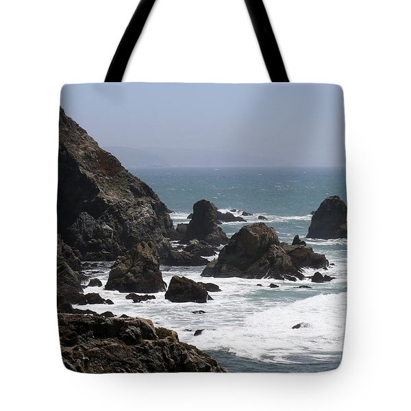 View From Bodega Head In Bodega Bay Ca - 4 Tote Bag