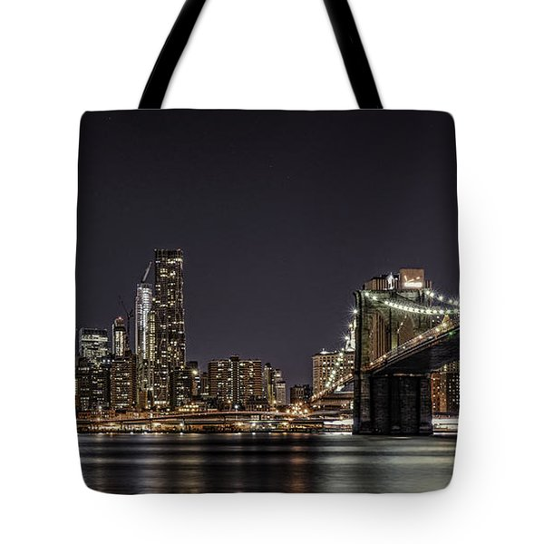 View From Brooklyn Bridge Park Tote Bag