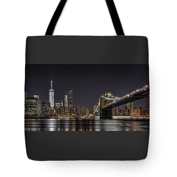 View From Brooklyn Bridge Park Tote Bag