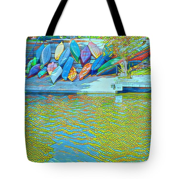 View From East Side Boardwalk Tote Bag