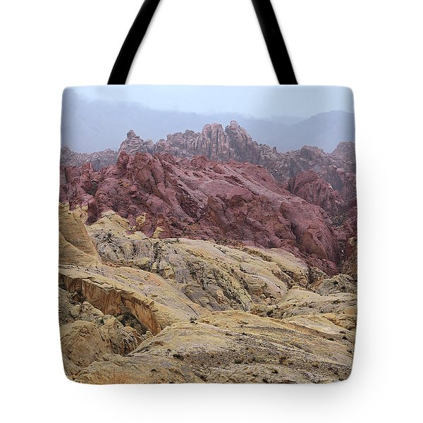 View From Fire Canyon Road Tote Bag