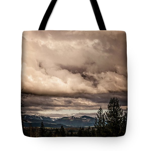 View From Flicka Farm Tote Bag