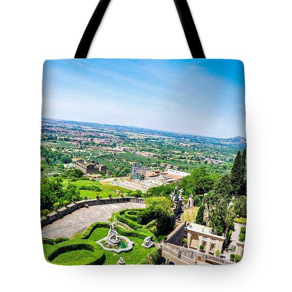 View From Grandeur Tote Bag