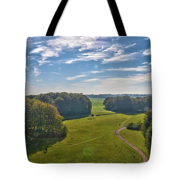 View From Lilac Mountain Tote Bag