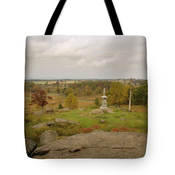 View From Little Round Top 2 Tote Bag