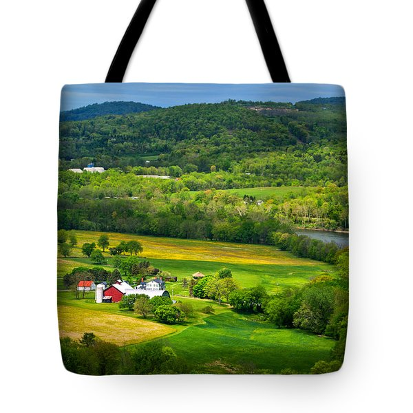 View From Marie Antoinette Overlook Tote Bag
