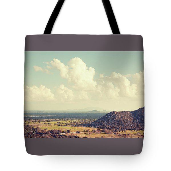 View From Mihintale Tote Bag by Joseph Westrupp