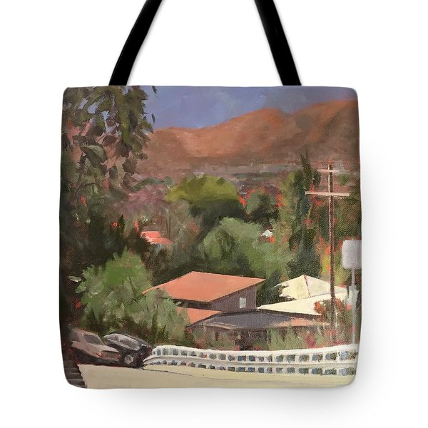 View From Moon Tote Bag
