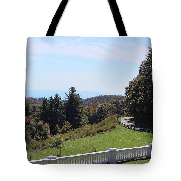 View From Moses Cone 2014a Tote Bag