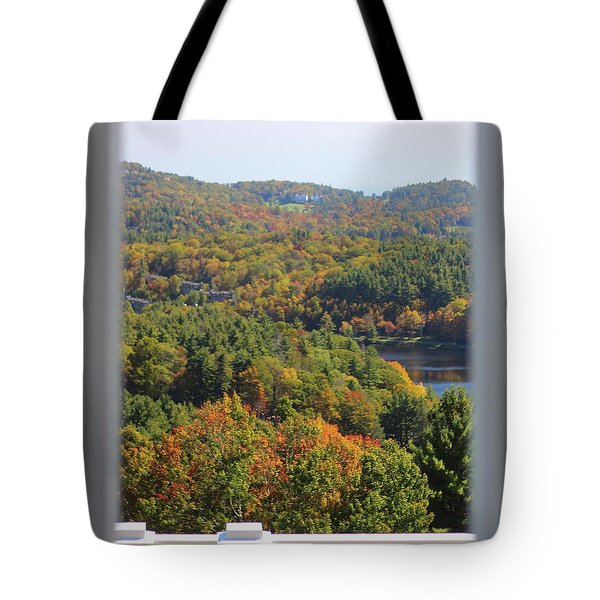 View From Moses Cone 2014b Tote Bag