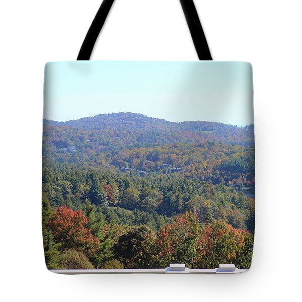 View From Moses Cone 2014c Tote Bag