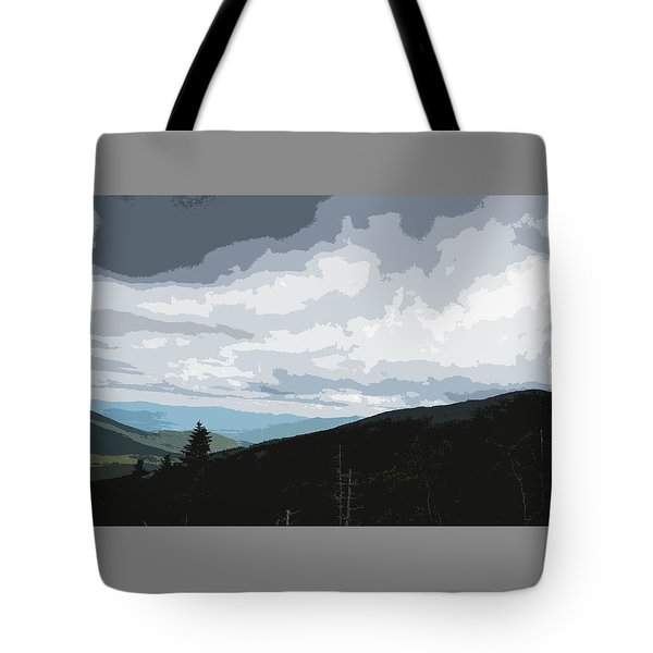 View From Mount Washington II Tote Bag by Suzanne Gaff