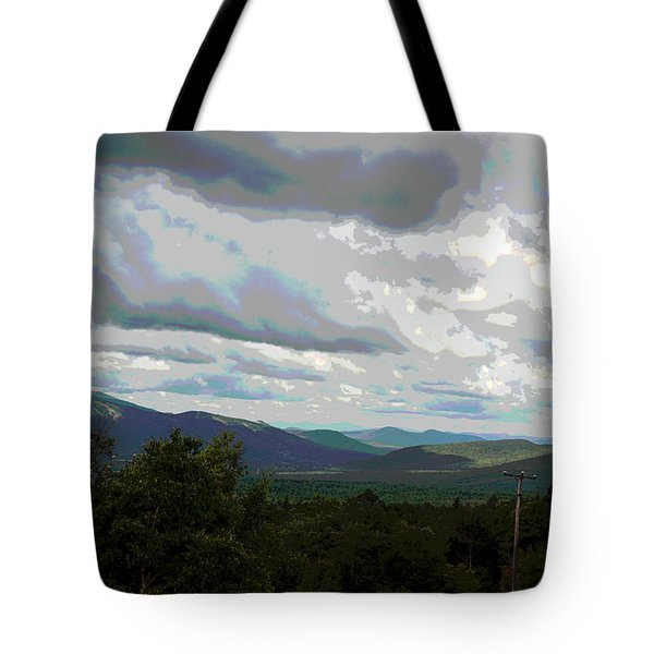 View From Mount Washington IIi Tote Bag by Suzanne Gaff