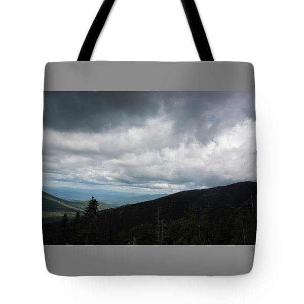 View From Mount Washington  Tote Bag by Suzanne Gaff