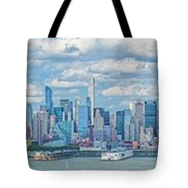 Tote Bag featuring the photograph View From New Jersey 2 by Theodore Jones