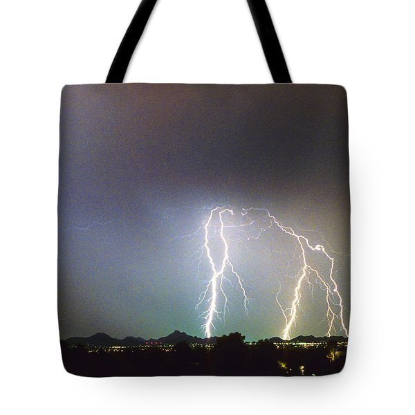 View From Oaxaca Restaurant  Ll Tote Bag by James BO  Insogna