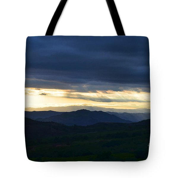View From Palomar 9633 Tote Bag