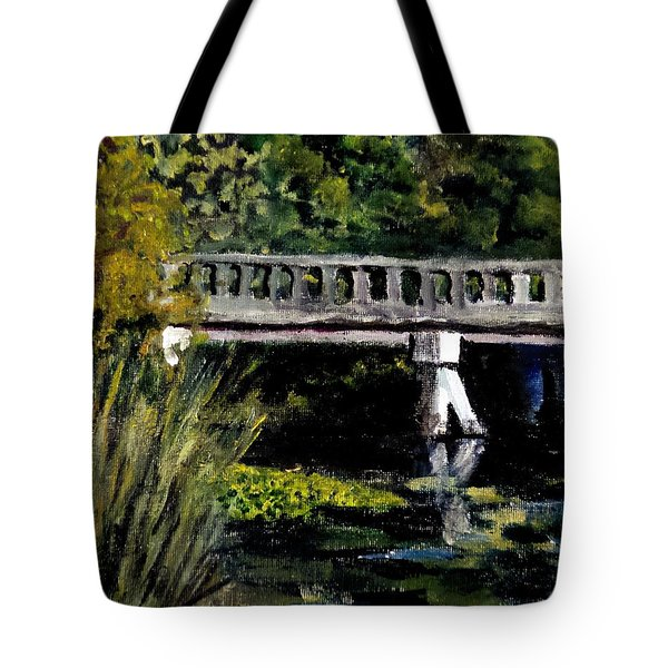 View From Phillips' Park Tote Bag