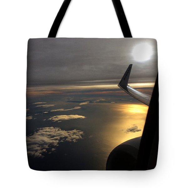 View From Plane  Tote Bag