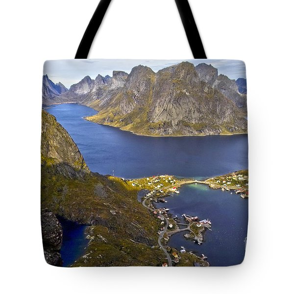 View From Reinebringen Tote Bag by Heiko Koehrer-Wagner
