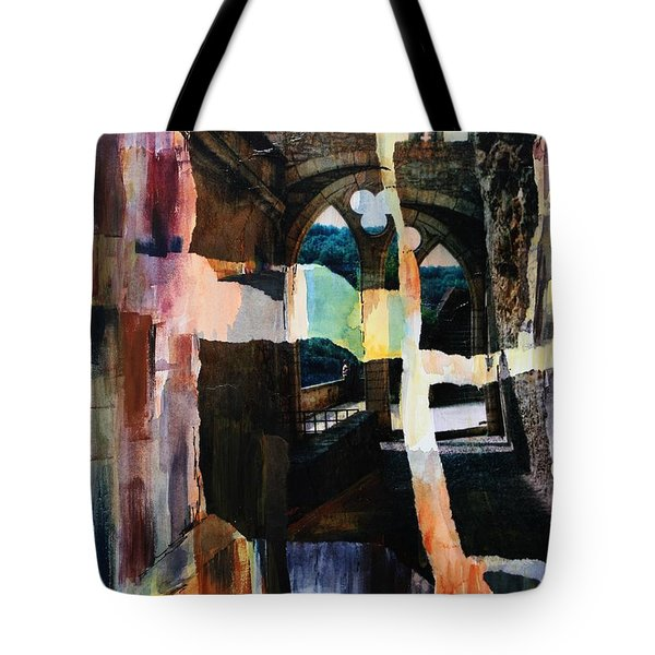 View From Rocamadour Tote Bag by Tara Moorman