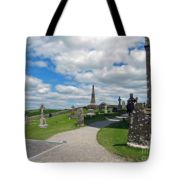 View From Rock Of Cashel Tote Bag