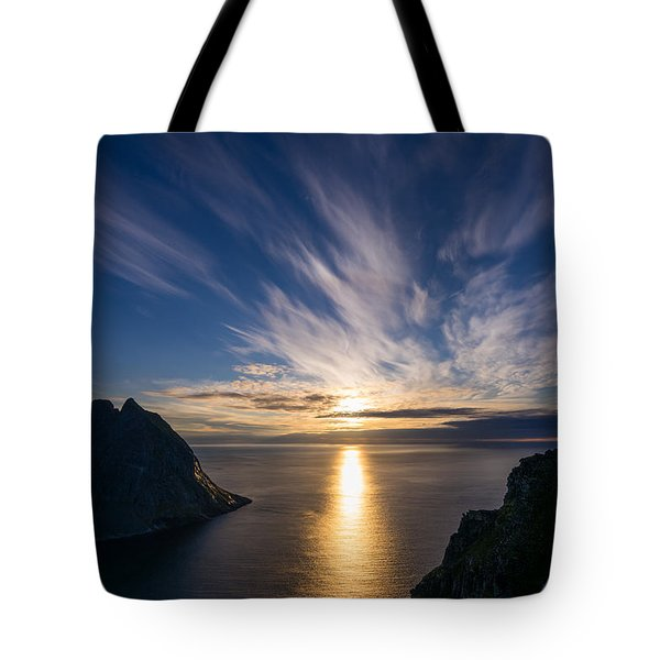 Tote Bag featuring the photograph View From Ryten by James Billings