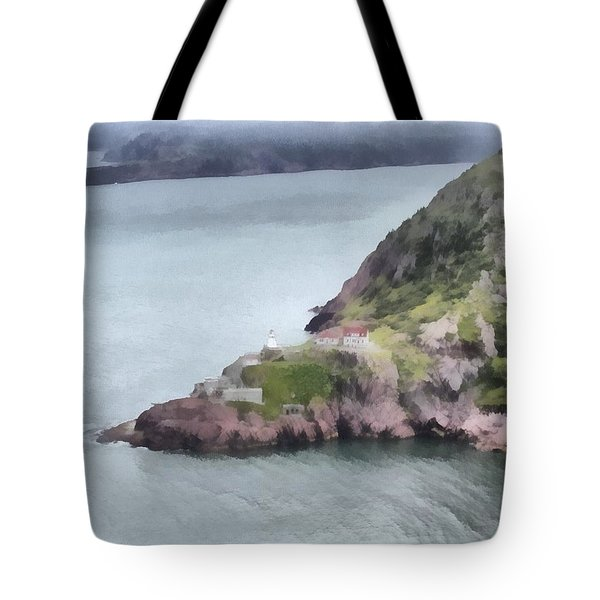 View From Signal Hill Tote Bag by Jeff Kolker