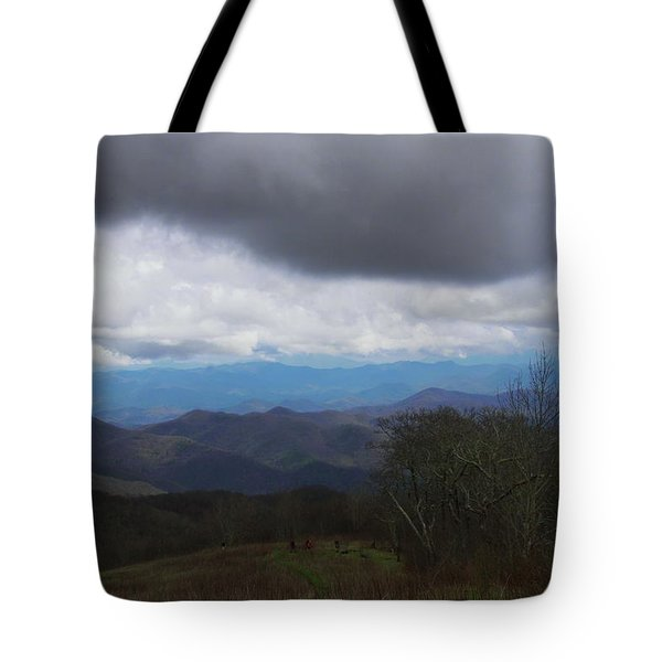 View From Silers Bald 2015b Tote Bag