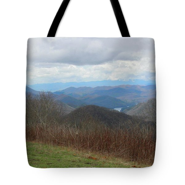 View From Silers Bald 2015c Tote Bag