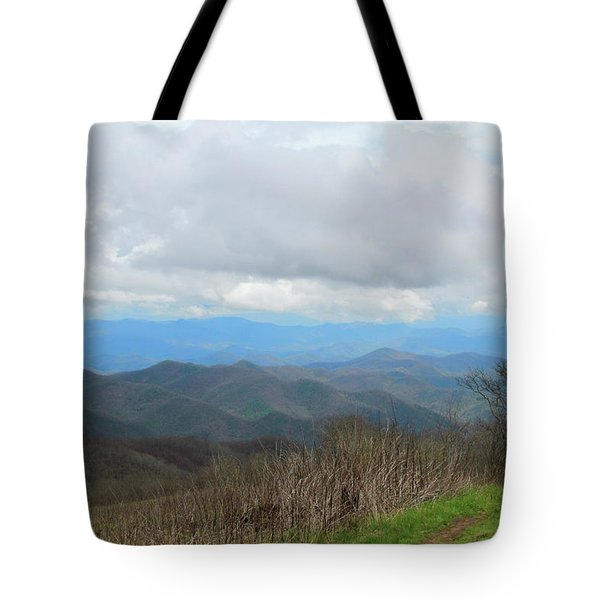 View From Silers Bald 2015d Tote Bag