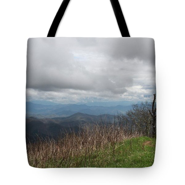 View From Silers Bald 2015e Tote Bag