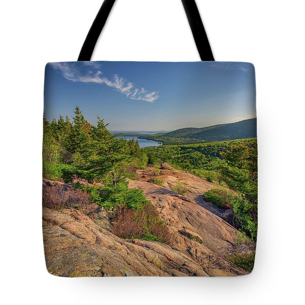 View From South Bubble Tote Bag by Rick Berk