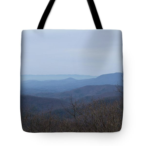 View From Springer Mountain Tote Bag