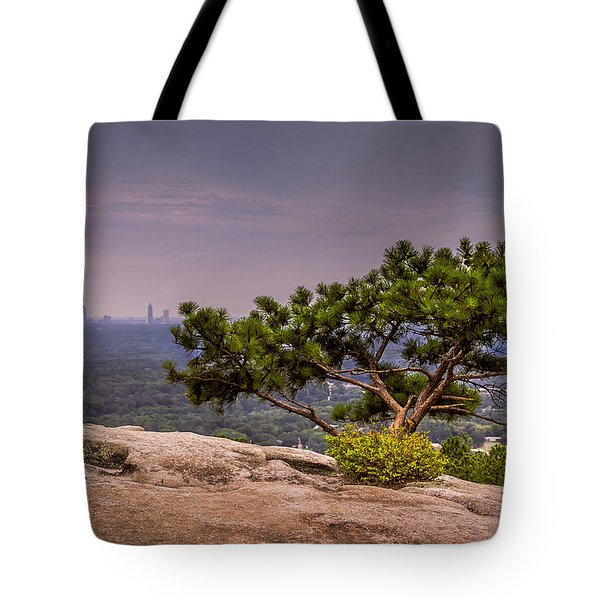View From Stone Mountain Tote Bag