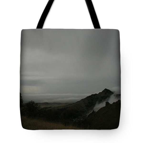 View From Sutter Buttes Tote Bag by Suzanne Lorenz