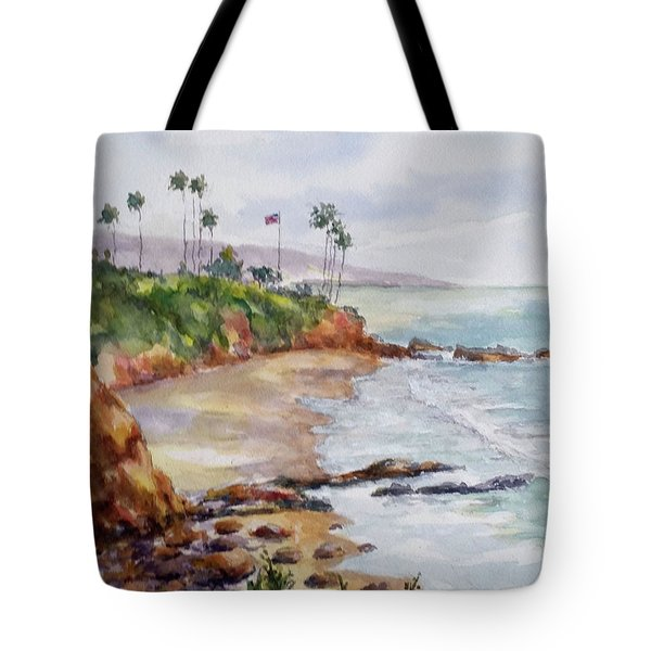 View From The Cliff Tote Bag