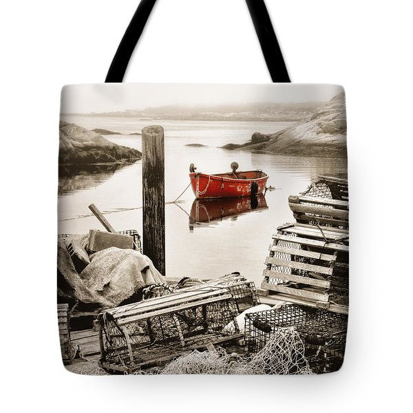 View From The Dock Tote Bag